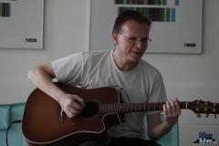 Von Chris Perle gab es diesmal wieder tolle Musik!